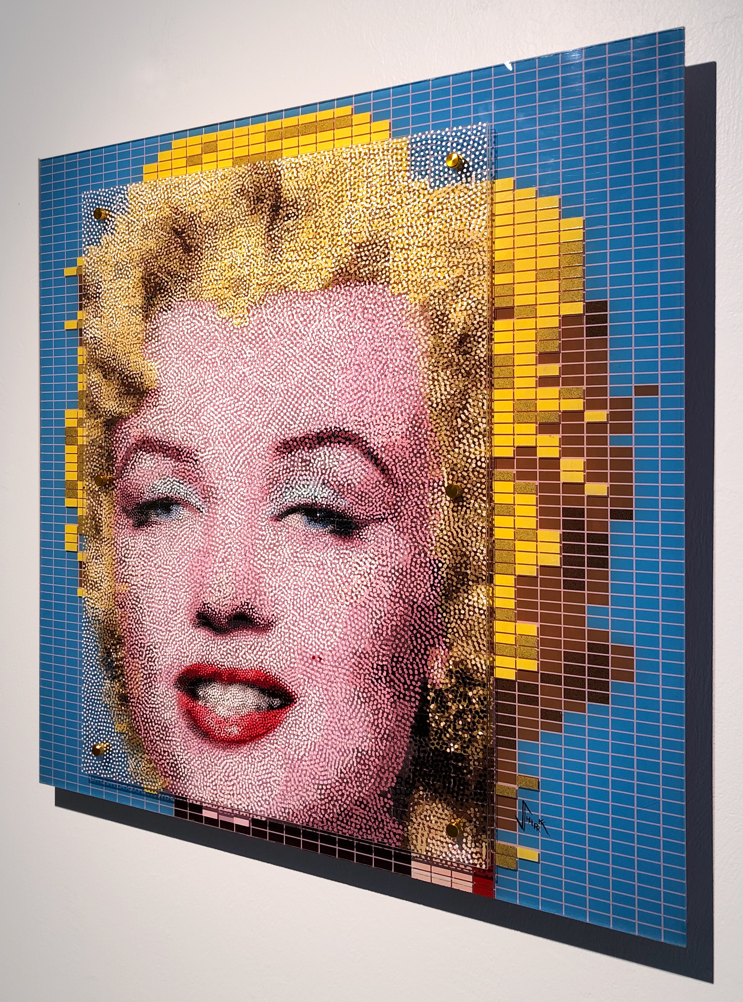 Warhol's Marilyn - Dotted!